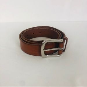 POLO Ralph Lauren Leather w/ Solid Brass Buckle 37